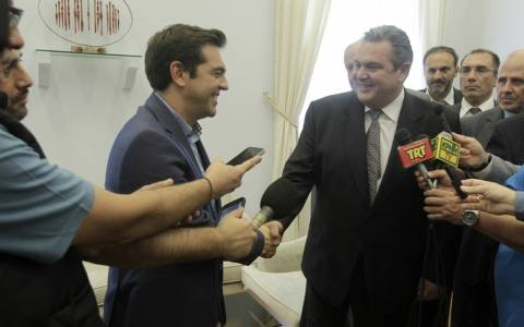 Αποτελέσματα εκλογών 2015-Τη Δευτέρα στις 10:30 η συνάντηση Τσίπρα-Καμμένου