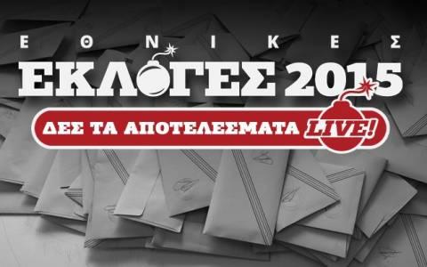 Αποτελέσματα εκλογών 2015: Τα τελικά αποτελέσματα στην εκλογική περιφέρεια Δράμας