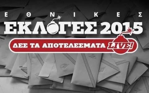 Αποτελέσματα εκλογών 2015: Πρωτιά ΣΥΡΙΖΑ στις 6 από τις 7 μονοεδρικές