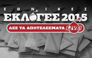 Αποτελέσματα εκλογών 2015: Ποιοι εκλέγονται στη Χαλκιδική