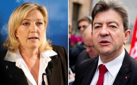 Αποτελέσματα εκλογών: Μελανσόν και Λεπέν χαιρετίζουν τη νίκη ΣΥΡΙΖΑ