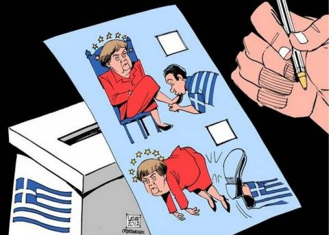 Αποτελέσματα εκλογών 2015: Η νίκη ΣΥΡΙΖΑ μέσα από σκίτσα (photos)