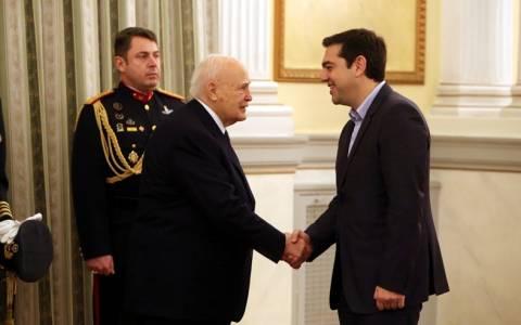 Εκλογές 2015: Ορκίστηκε Πρωθυπουργός της Ελλάδας ο Τσίπρας