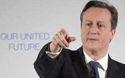 Κάμερον: «Να αντιμετωπίσει το δημοσιονομικό έλλειμμα η νέα κυβέρνηση»