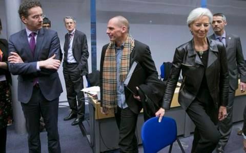 Στη συνεδρίαση του Eurogroup και η Κριστίν Λαγκάρντ