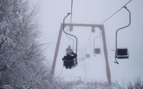 Ανοιχτά τα χιονοδρομικά κέντρα για τους εκδρομείς του τριημέρου