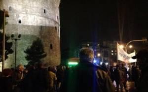 Θεσσαλονίκη: Συγκέντρωση διαμαρτυρίας για την συμφωνία στο Eurogroup