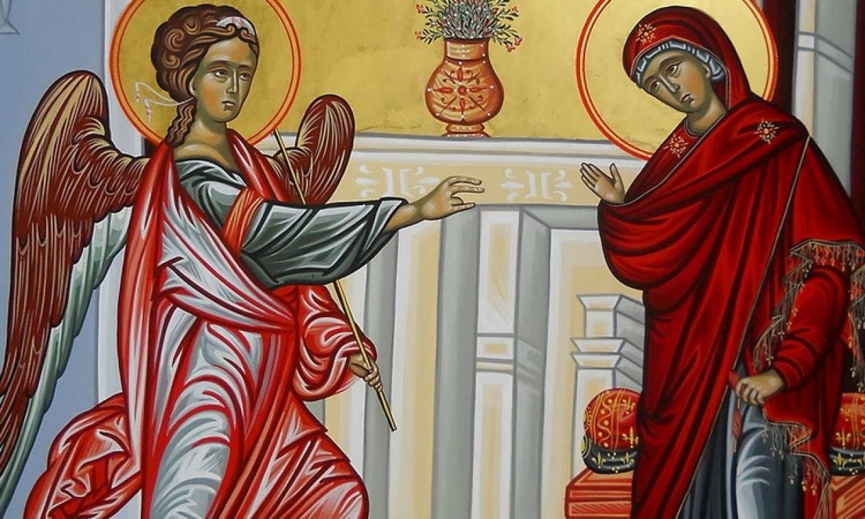 25η Μαρτίου - Ο Ευαγγελισμός της Θεοτόκου (video)