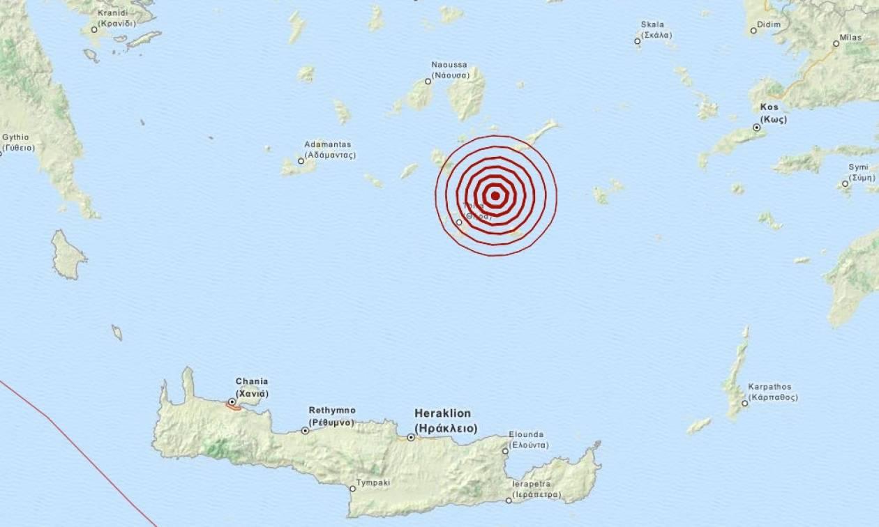 Σεισμός 3,3 Ρίχτερ στις Κυκλάδες