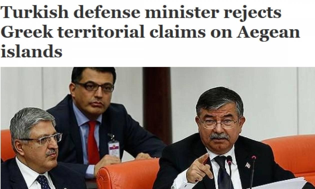 Πρόκληση Τούρκου ΥΠΑΜ: «16 νησιά κατέχονται παράνομα από την Ελλάδα»