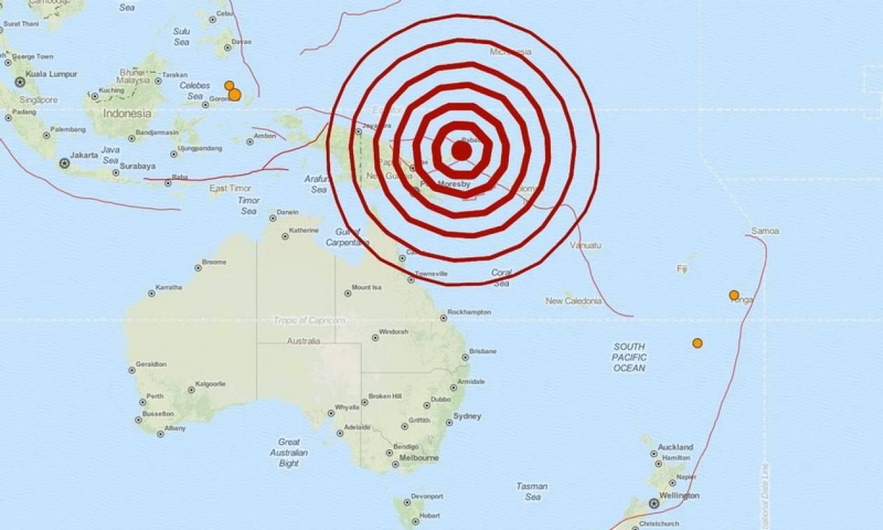 Μεγάλος σεισμός 7,7 Ρίχτερ στην Παπούα – Νέα Γουινέα