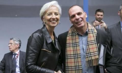 Ολοκληρώθηκε η συνάντηση του Γιάνη Βαρουφάκη με την Κριστίν Λαγκάρντ