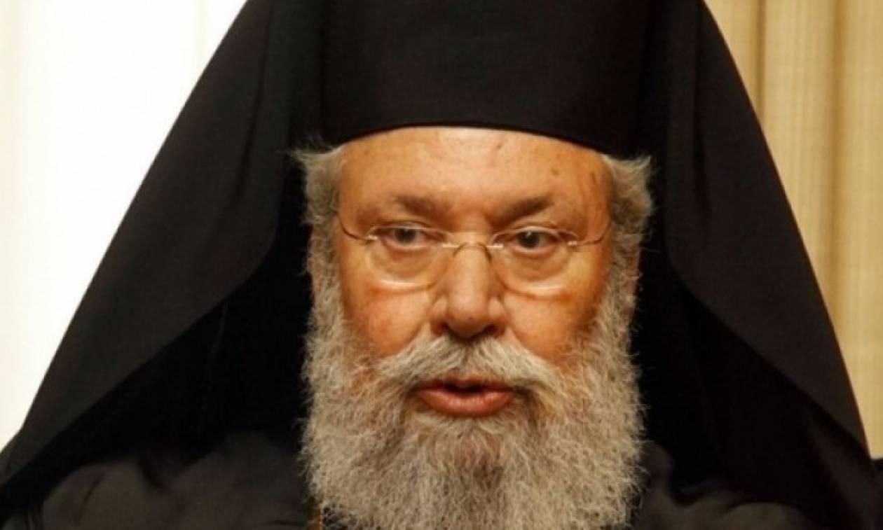 Αρχιεπίσκοπος Κύπρου: Εγώ θα κρίνω τι θα κάνω μέσα στην Εκκλησία