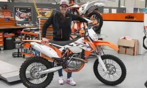 KTM: Η Ισπανίδα Laia Sanz με την Αυστριακή ομάδα