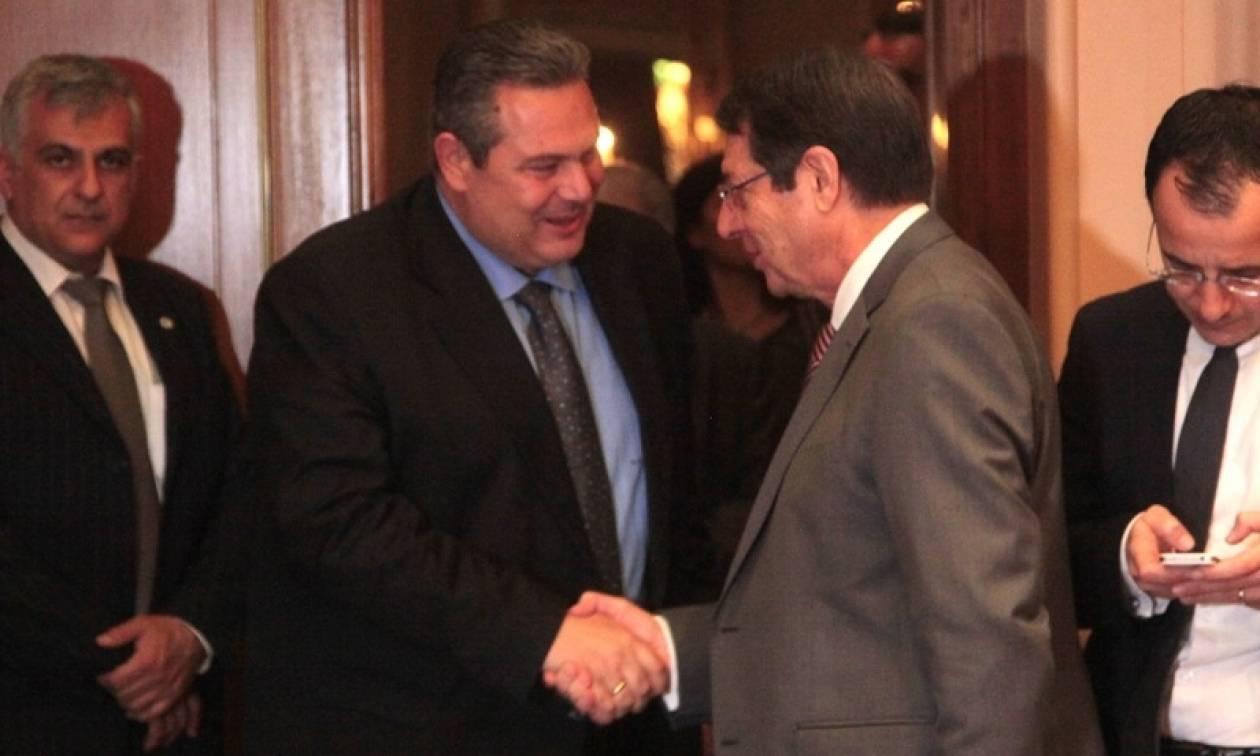 Καμμένος: Πρώτα αναγνώριση της Κύπρου και μετά διάλογος με την Τουρκία