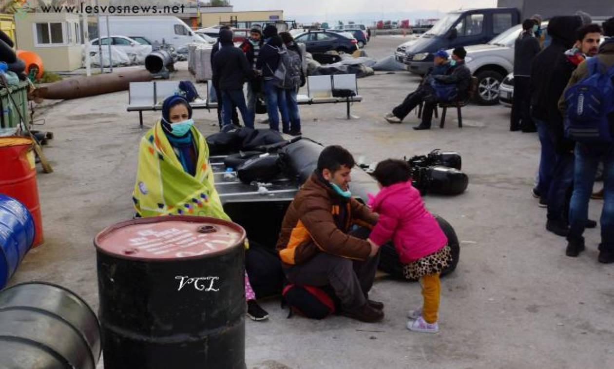 Λέσβος: Περίπου 500 μετανάστες αφίχθησαν μέσα σε λίγες ώρες (photos)