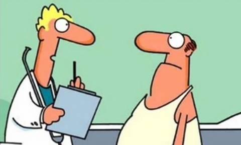 Το ανέκδοτο της χρονιάς: «Γιατρέ, πες μου γιατί έχω μικρό...»