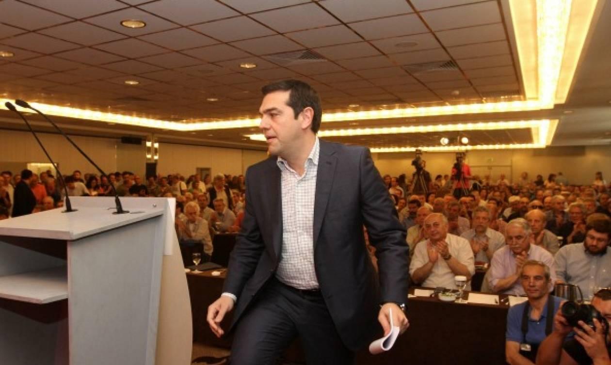 Εγκρίθηκε κατά πλειοψηφία η πολιτική απόφαση από την ΚΕ του ΣΥΡΙΖΑ