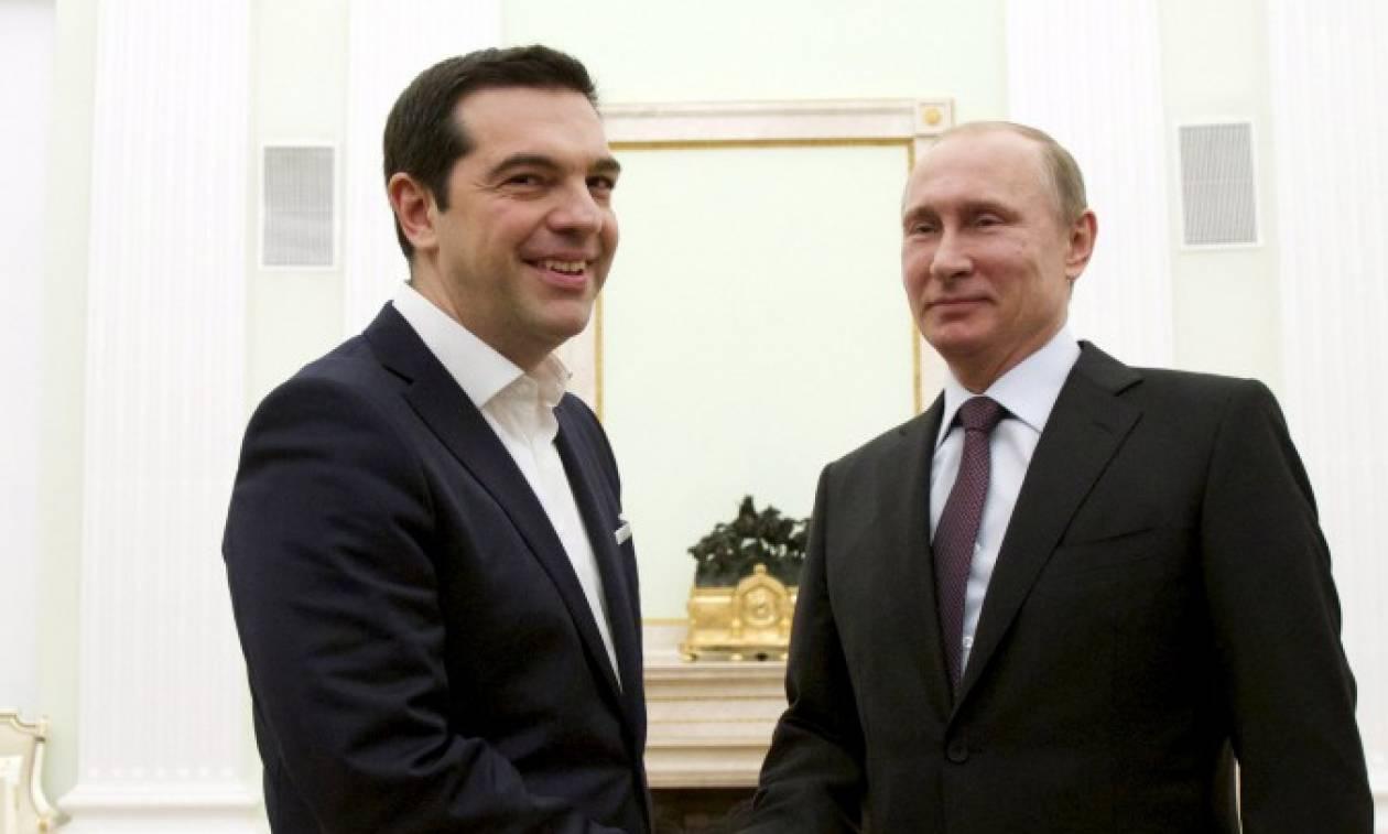 Στη Ρωσία ο Αλ. Τσίπρας – Συνάντηση με Πούτιν