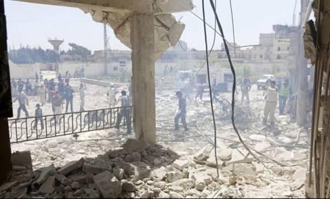 Αεροπορικες,Επιδρομες,Χαλεπι,Γυναικες,Σκοτωθηκαν,Συριακης