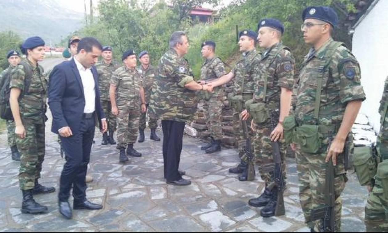 «Πανικός» στην Αλβανία...από δηλώσεις Καμμένου περί ενίσχυσης στρατού στα Ελληνοαλβανικά σύνορα