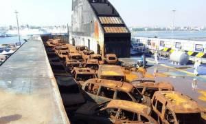 Νόρμαν Ατλάντικ: Οι συγκλονιστικές πρώτες εικόνες από το εσωτερικό του πλοίου (video)