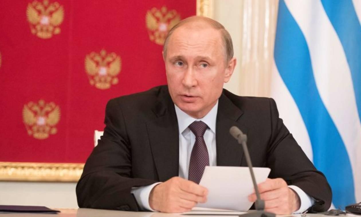 Πούτιν: Ο αγωγός φυσικού αερίου θα βοηθήσει την Ελλάδα να αποπληρώσει τα χρέη της
