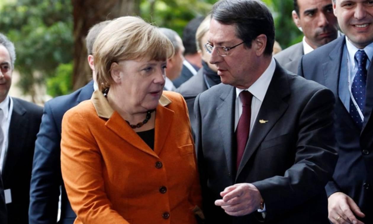 Τηλεφωνική επικοινωνία Αναστασιάδη - Μέρκελ για την Ελλάδα