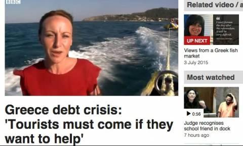 Δημοψήφισμα 2015 - BBC - Ελάτε στο Φαληράκι για να βοηθήσετε την Ελλάδα (video)