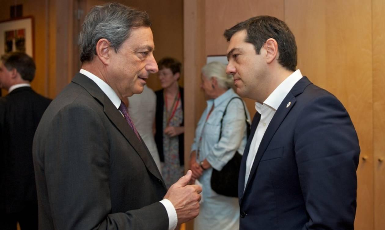 Ντράγκι: Στήριξη των ελληνικών τραπεζών έως την Κυριακή