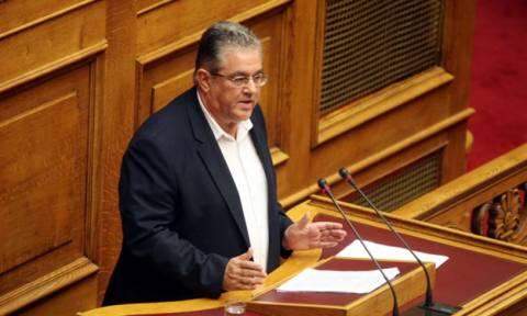 Συμφωνία - Κουτσούμπας: Η κυβέρνηση φορτώνει στο λαό δάνειο και σκληρά μέτρα
