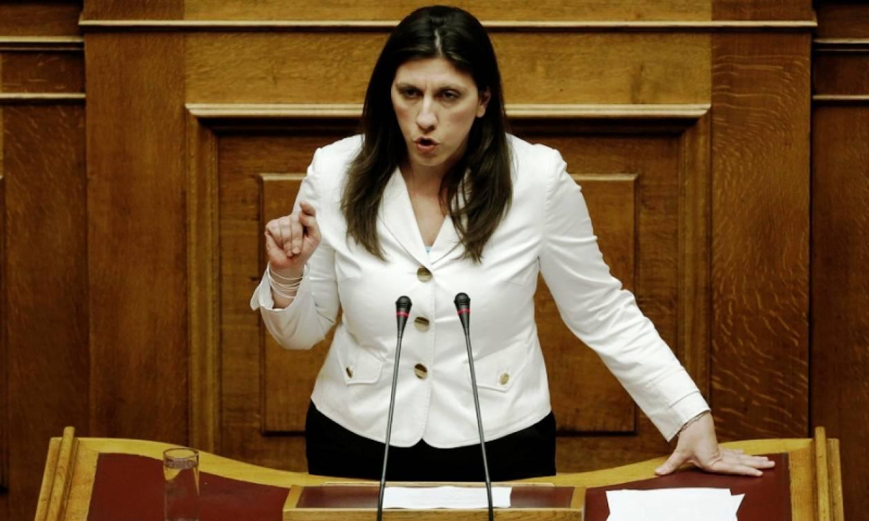 Συμφωνία - Κωνσταντοπούλου: Δεν ψηφίζω την πρόταση της κυβέρνησης (vid)