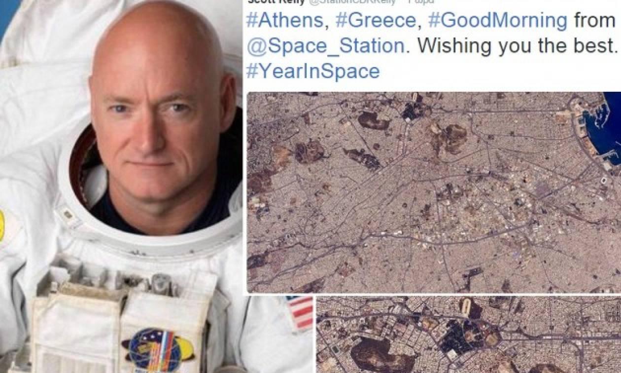 Το συγκινητικό μήνυμα ενός αστροναύτη της NASA από το διάστημα για την Ελλάδα (tweet)