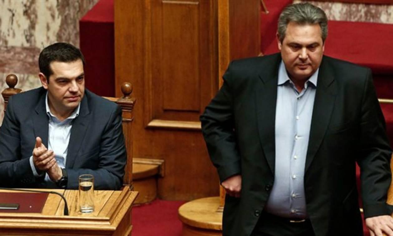 ΕΚΤΑΚΤΟ - Καμμένος: Δεν μπορούμε να συμφωνήσουμε στα μέτρα