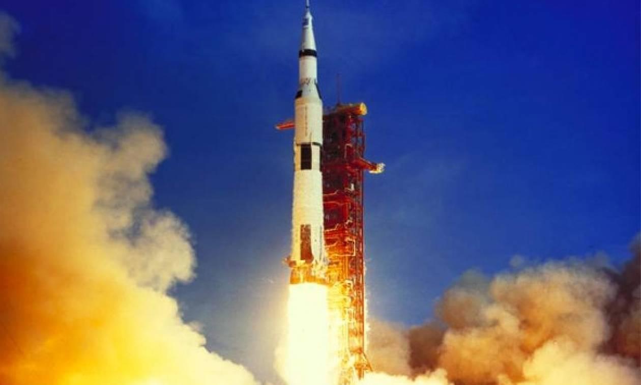 Σαν σήμερα to 1969 εκτοξεύεται το διαστημόπλοιο Apollo 11