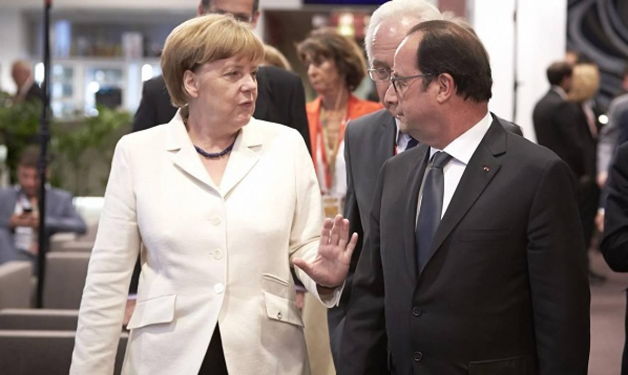 Επανίδρυση της ευρωζώνης με τη Γαλλία στην εμπροσθοφυλακή προτείνει ο Ολάντ