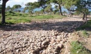 Αρχαιολογική έρευνα έφερε στο φως τμήμα αρχαίας αμαξιτής οδού (photos)