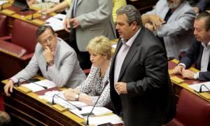Μνημόνιο - Καμμένος: Όσο μας στηρίζει ο ελληνικός λαός, θα σας τσακίσουμε! (video)