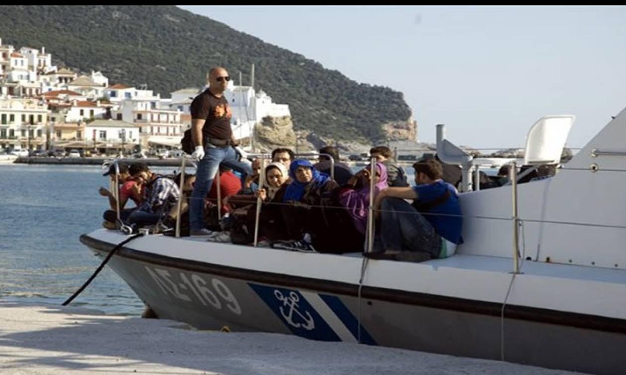 Το Λιμενικό συνέλαβε διακινητές μεταναστών στην Τήλο