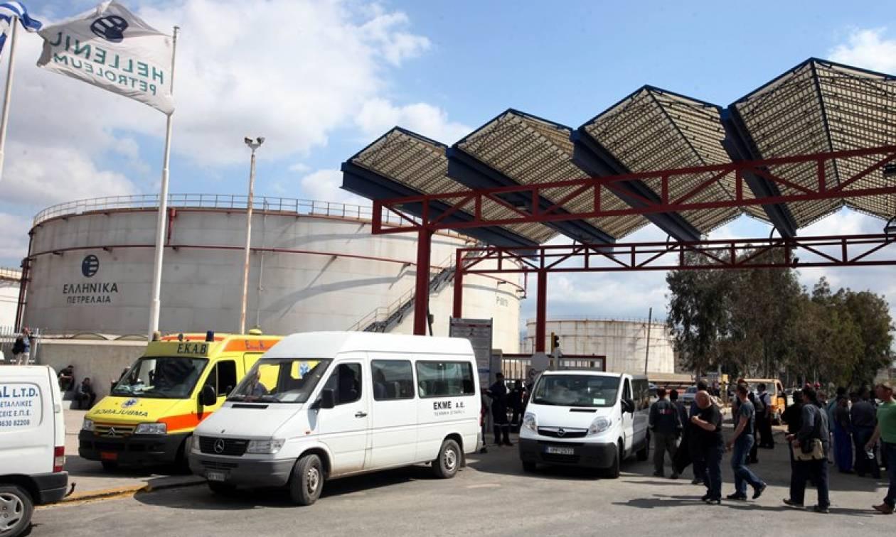 Σε διαθεσιμότητα πέντε εργαζόμενοι στα ΕΛΠΕ για το δυστύχημα του Ασπροπύργου