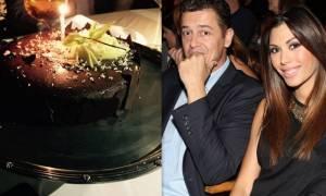 Αντώνης Σρόιτερ: Η τούρτα γενεθλίων και η «τρυφερή» ευχή της συντρόφου του