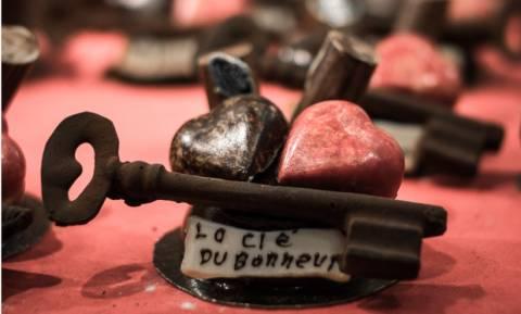 Φεστιβάλ Σοκολάτας το τελευταίο Σαββατοκύριακο του Οκτωβρίου στο Παρίσι