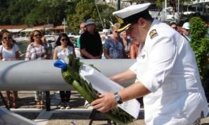 Το ΠΝ στη 72η επέτειο από τη βύθιση του υποβρυχίου Κατσώνης