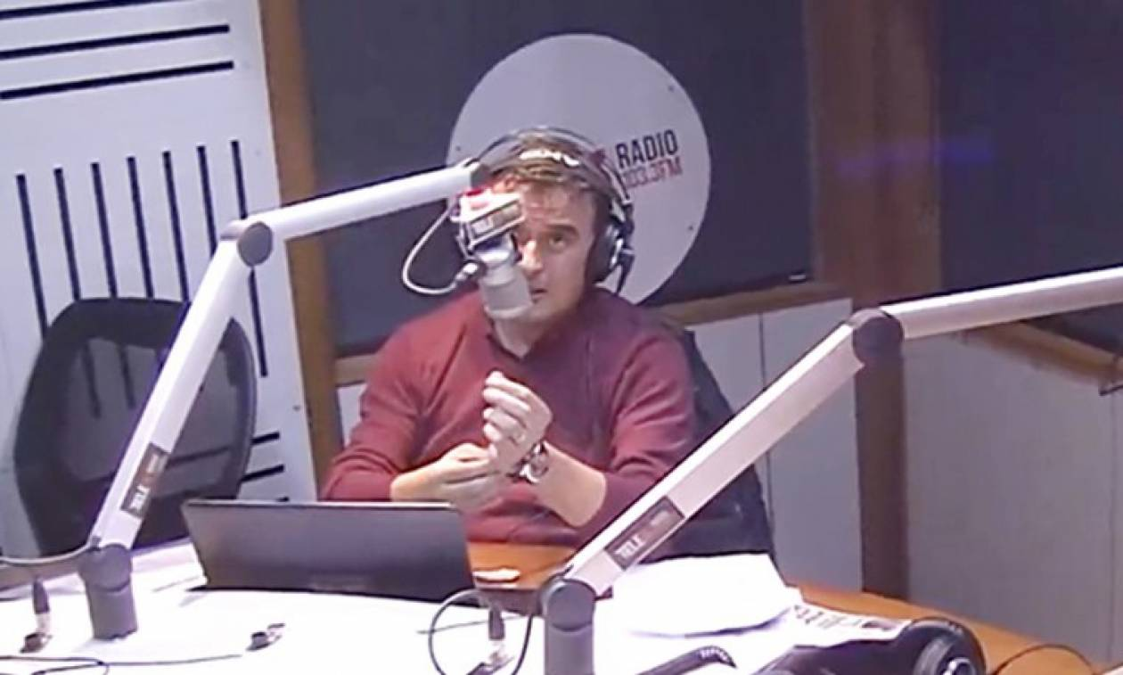 Η αντίδραση ραδιοφωνικού παραγωγού την ώρα του μεγάλου σεισμού στη Χιλή (video)