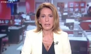 Γιατί δάκρυσε η Όλγα Τρέμη στο δελτίο ειδήσεων (video)