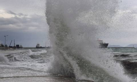 Έκτακτο δελτίο επιδείνωσης καιρού - Έρχονται καταιγίδες και θυελλώδεις άνεμοι το Σαββατοκύριακο