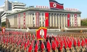 Βόρεια Κορέα: Στρατιωτική παρέλαση για την 70η επέτειο ίδρυσης του Κόμματος των Εργατών (video)