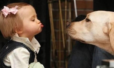 Τα ζώα είναι οι καλύτεροι φίλοι των παιδιών
