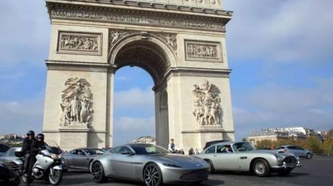 Κλασσικά Αυτοκίνητα: Τα James Bond Cars στο Παρίσι