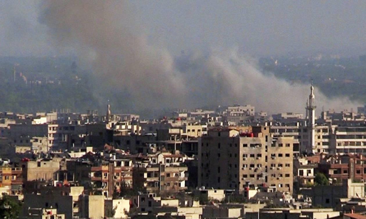 ΈΚΤΑΚΤΟ - Επίθεση με ρουκέτες στη ρωσική πρεσβεία στη Δαμασκό